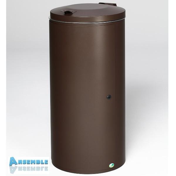 poubelle avec porte 120 litres. Black Bedroom Furniture Sets. Home Design Ideas