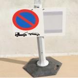 Support pour panneau de signalisation