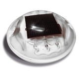 Plot solaire rond en polycarbonate