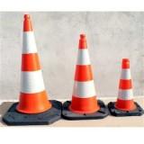 Cones de signalisation securite routiere