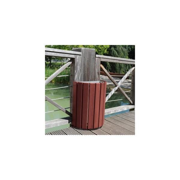 Corbeille bois cologne 60 litres ansemble for Corbeille en bois flotte