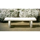 banquette chene finition blanc naturel