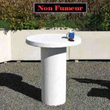 Table beton arme Cappuccino