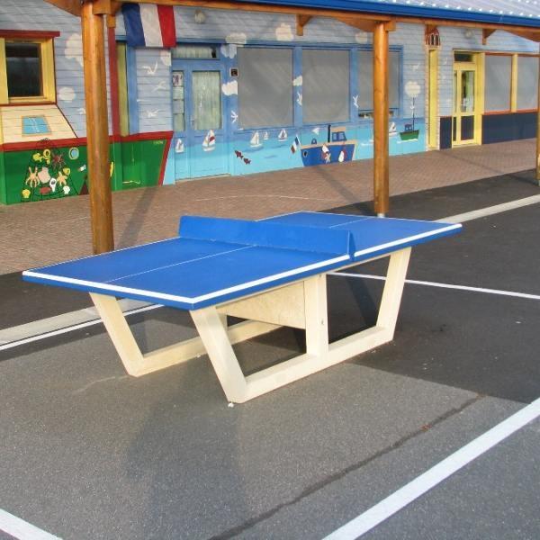 Table ping pong en béton armé - ANSEMBLE -