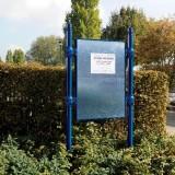 Panneau d'affichage municipal