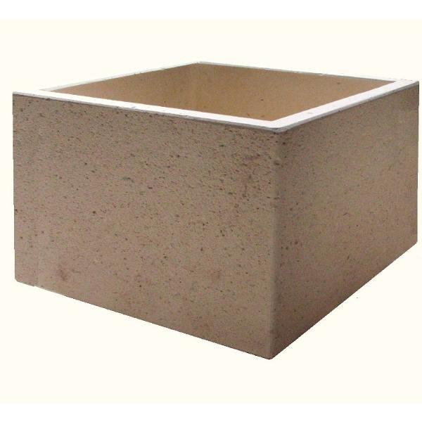 bac a fleur beton bac a fleurs exterieur beton bac fleur en b ton lune 50 x 42 x 25 cm bac. Black Bedroom Furniture Sets. Home Design Ideas