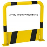 Arceau simple tôle basse 750 x 1000