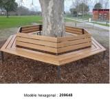 Tour d'arbre hexagonal