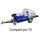 Machine à enduire COMPACT-PRO 70 - 400V TETRA