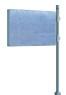 Panneau drapeau H 870 x 1225 mm